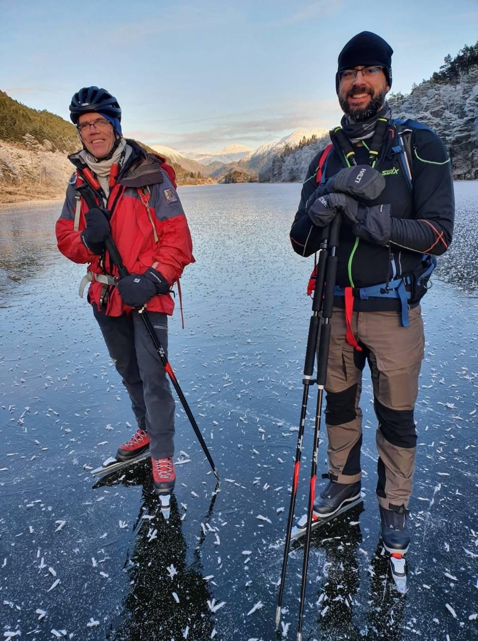 hauglandsvatnet turskøyting bergen