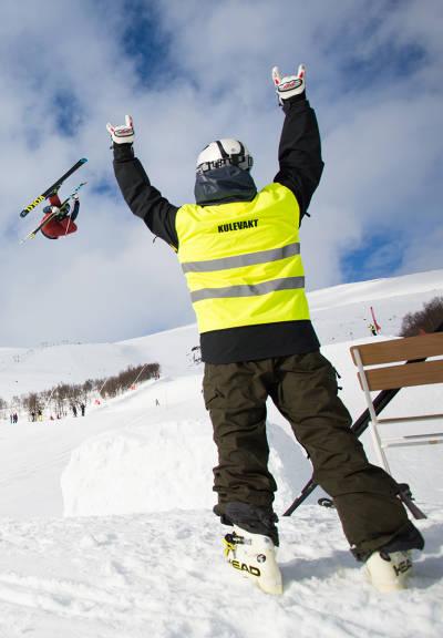 frikjøring topptur pudder ski twintip