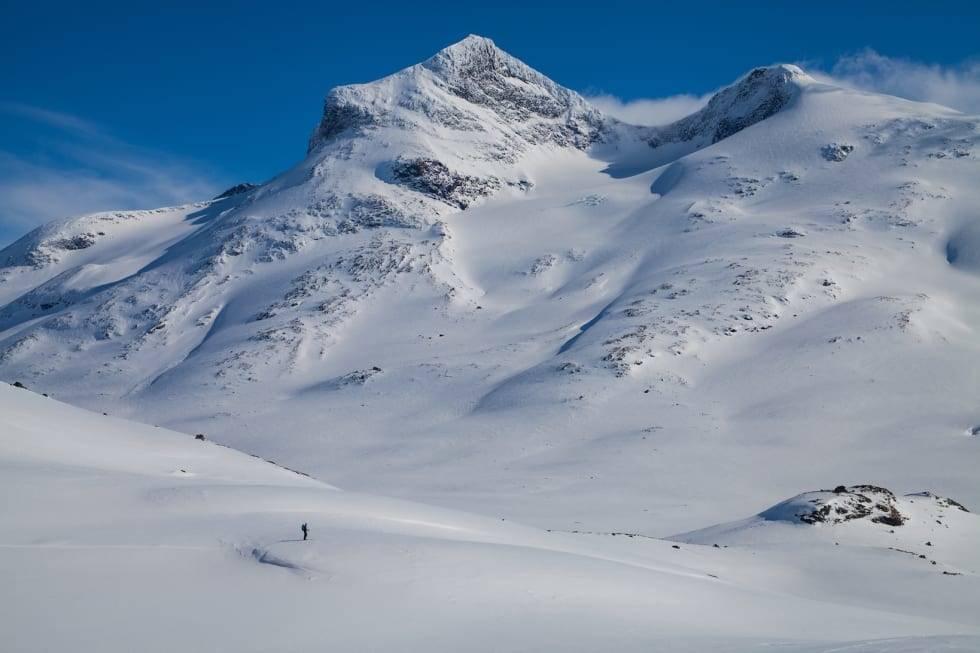 fjellskitur i jotunheimen