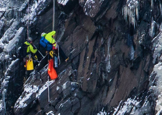 ulykke isklatring telemark rjukan juvsøyøla