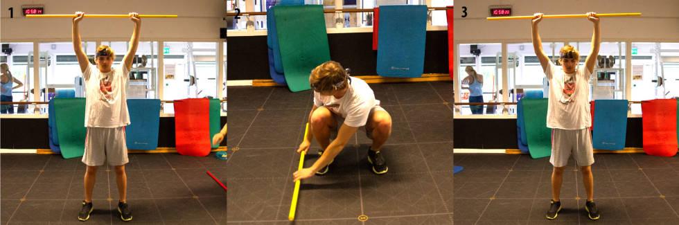 tøy strekking øvelse trening