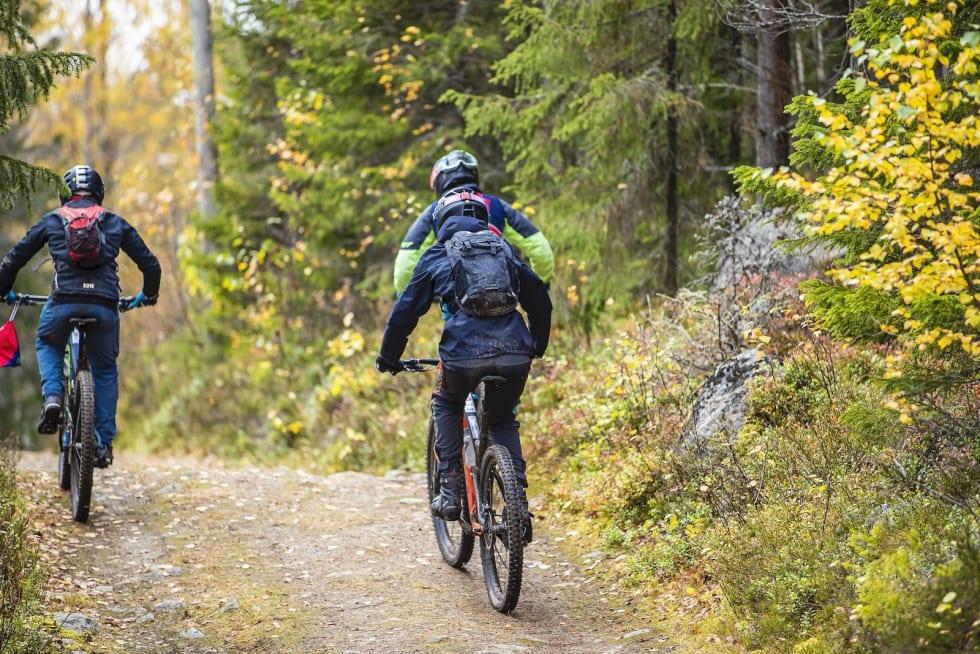 Ny etappe, ny transport. Foto: Pål Westgaard