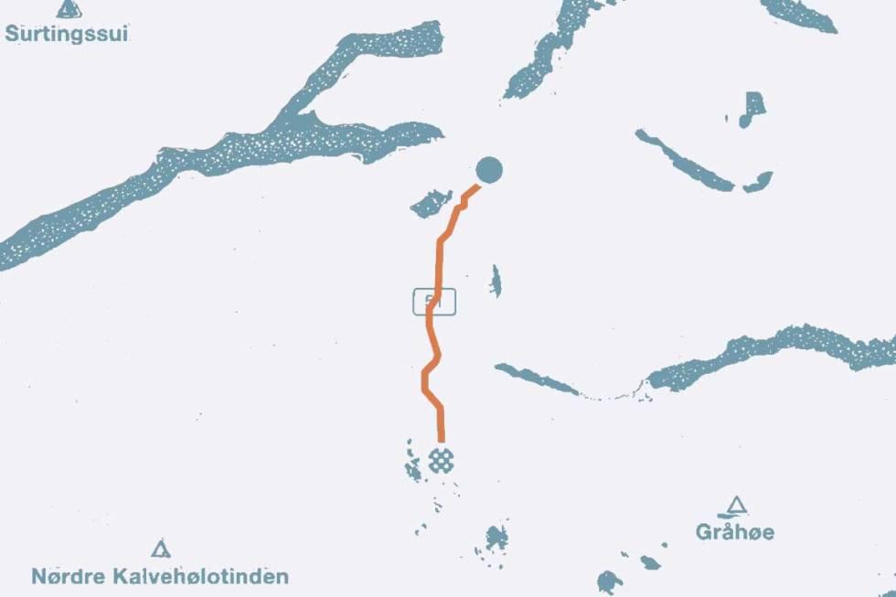 Valdresflya-kart