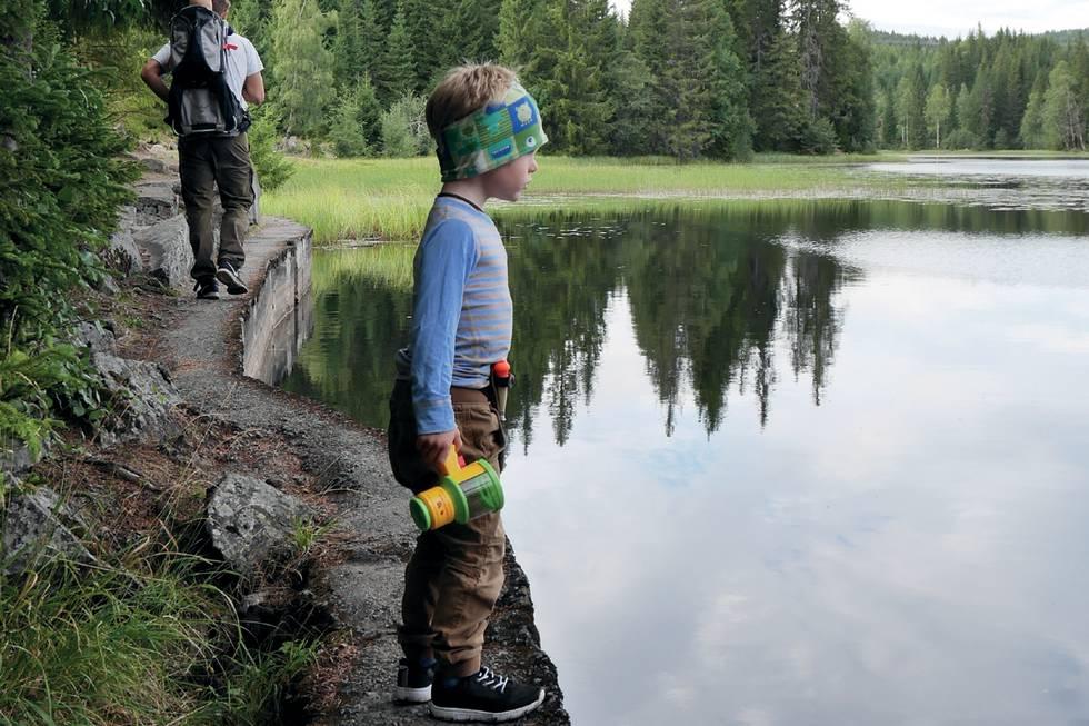 fiskekort vann utenetter fiske med barn