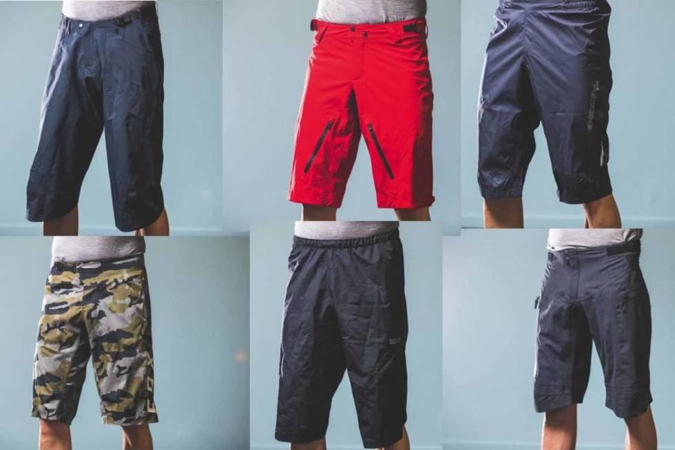 vanntett shorts sykling