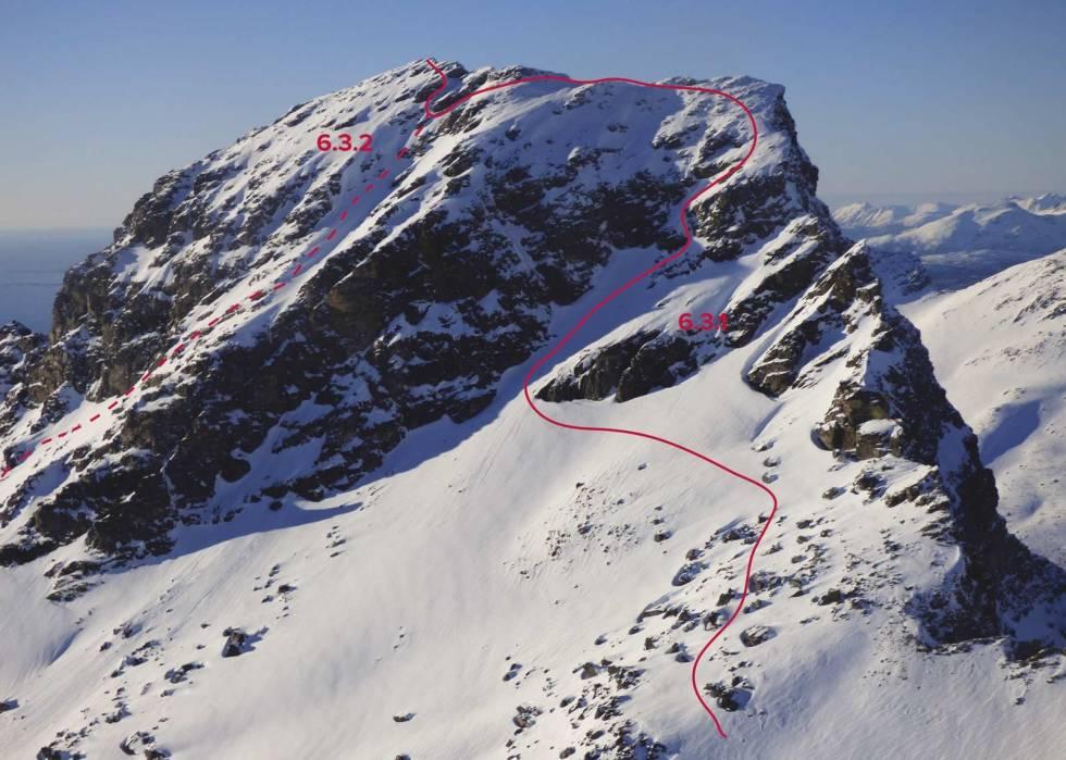 Vasskartinden-Andøyrja-med-rute-2