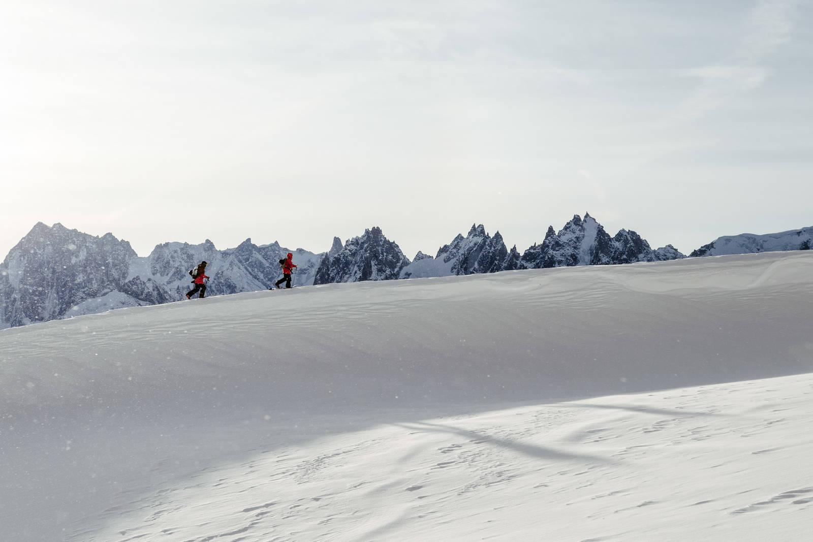 Stinius Skjøtskift og Stian Hagen Flegere Chamonix