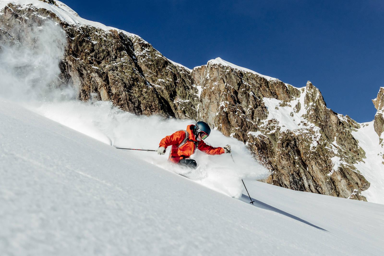 Stian Hagen Chamonix. Foto: Gard Gauteplass