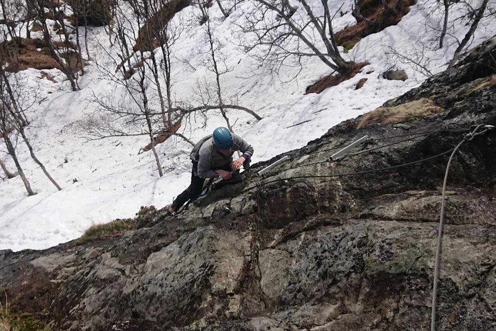 Via ferrata Hemsedal guide location utemagasinet