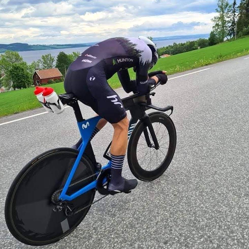 Vidar Mehl er klar for å slå den norske temporekorden på 200km