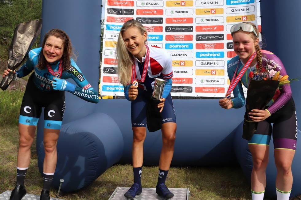 Vita Heine, Katrine Aalerud, Elise Marie Olsen NM tempo 2020