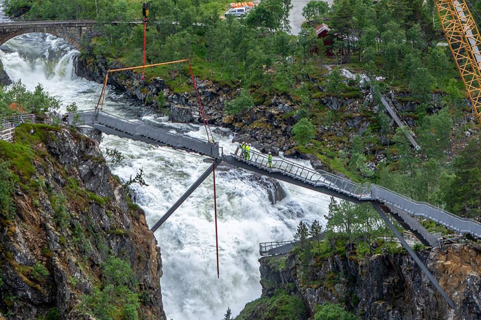 Vøringsfossen bro attraksjon