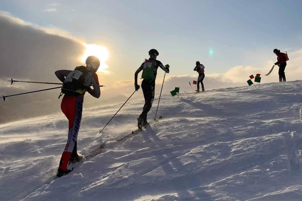 Voss Rando viste fram Myrkdalens solside på lørdagens individuelle konkurranse.  Foto: Knut Horvei