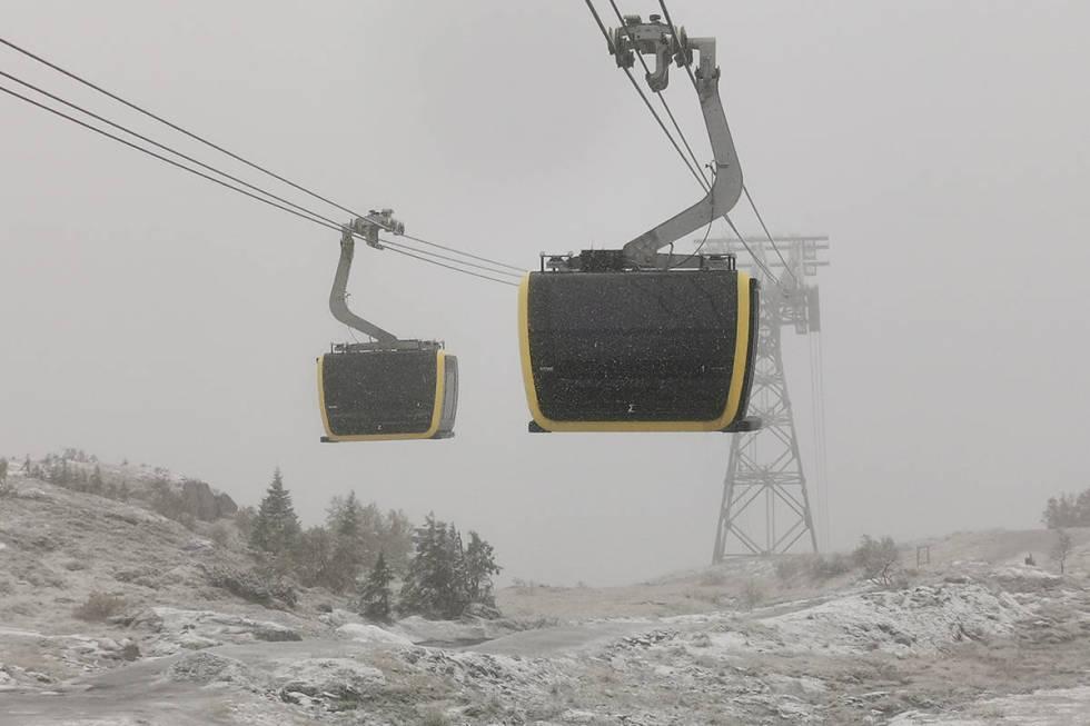 voss resort, sesongkort, snøfall