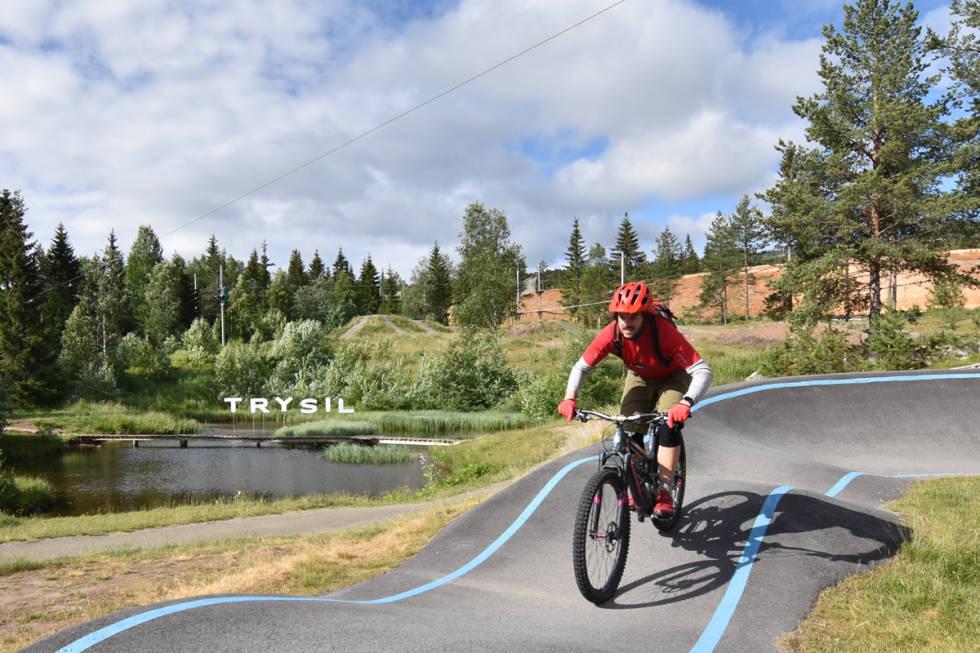 pumptrack gullia trysil bike arena