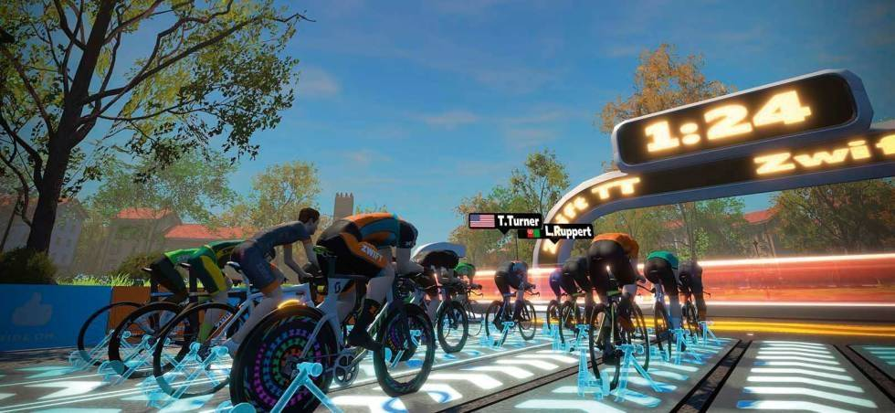 zwift-rulle
