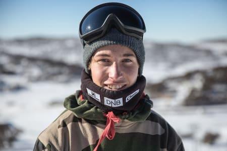 Marcus Kleveland  kjørte best i gårsdagens slopestyle og dermed vant juniorklassen. Foto: Matt Pain