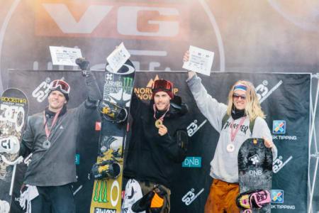 Ståle Sandbech kan ta tre NM-gull på tre dager, dersom han vinner big air på søndag. Foto: Daniel Jacobsen