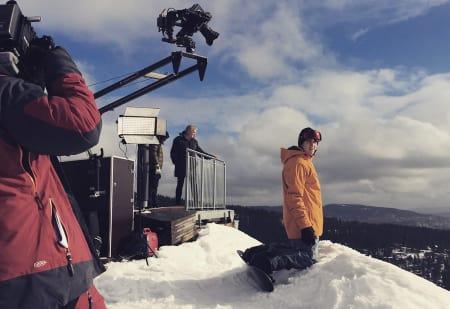 MILJØET ER VIKTIG: Terje Håkonsen har spilt inn film der han oppfordrer folk til og engasjere seg. Foto: Geelmuyden Kiese