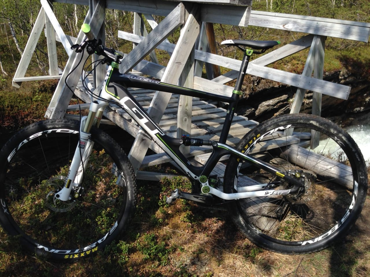 Fulledempet sykkel - det farligste som finnes...?