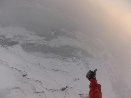 Vinterbestigning av Sandhornet