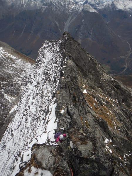 Luftig tur i Romsdalen