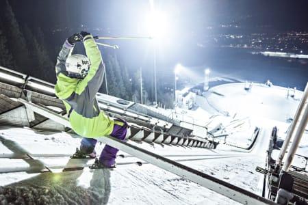 De nye skihopperne