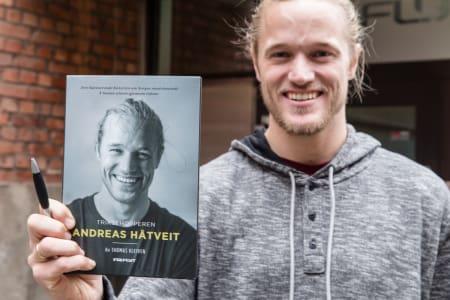 ANDREAS EVANGELIET: I disse dager slippes boka om Andreas Håtveit, og i helga skal Andreas signere bøker i Oslo, på Geilo og i Hemsedal. Foto: Christian Nerdrum