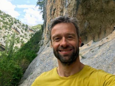 Geir Evensen er forfatter av boka Sikker Klatring.