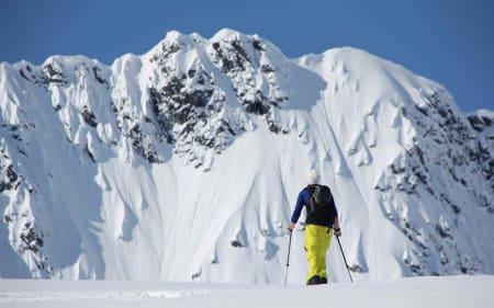 Skitur i Romsdalen. Foto: Øyvind Heen