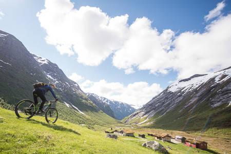 Stisykling i Stryn. Foto: Vegard Breie