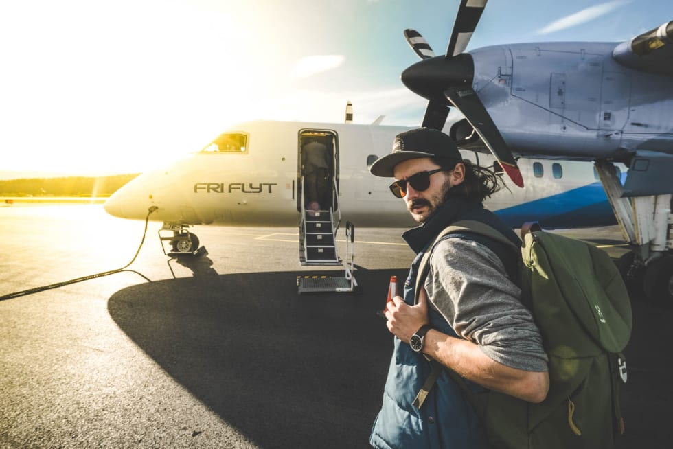 Vebjørn Enersen på reis