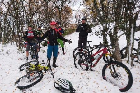 – En helt annen opplevelse å skli rundt på snø