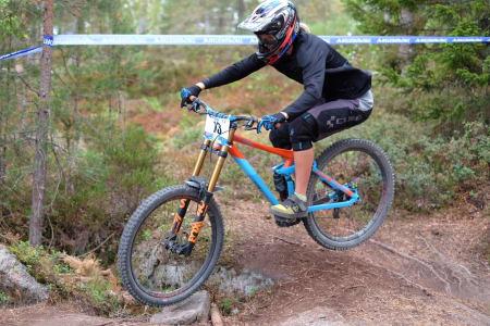 Hilde Sangesland Strædet vant sitt tredje NM-gull i utfor. Foto: Niclas Stensrud Andersen