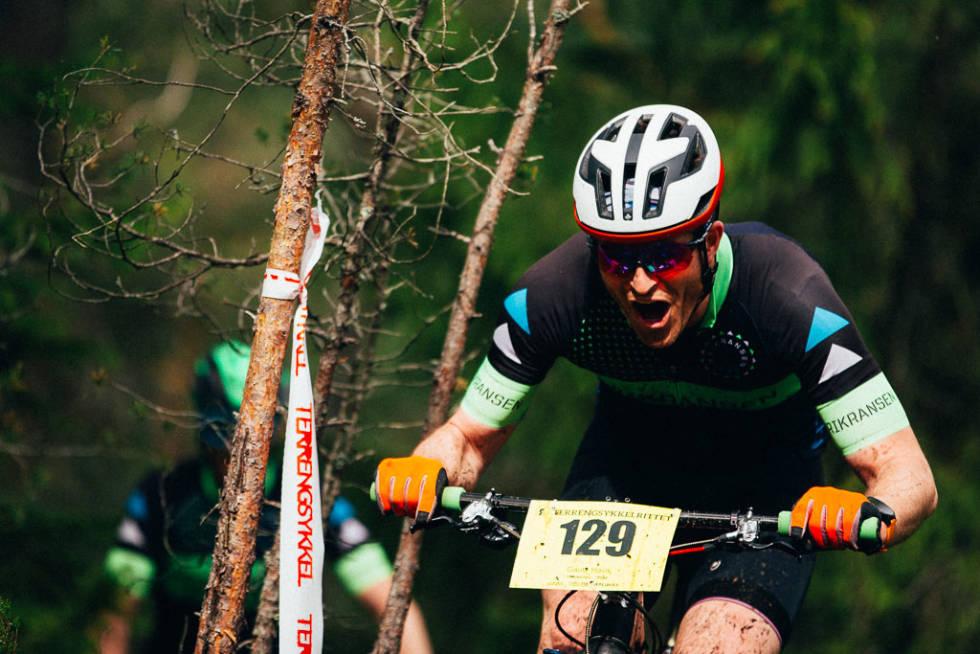 Gira syklist under Terrengsykkelrittet 2019. Foto: Sjur Melsås