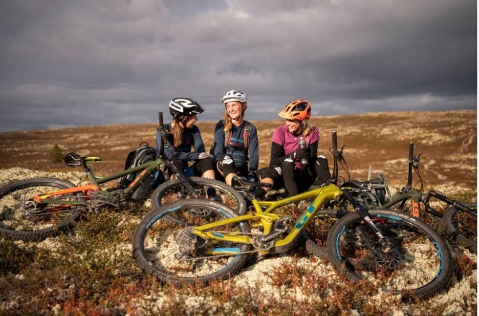 Vennehelg på sykkelfestival i Trysil. Utflukt 2020. Foto: Ola Matsson