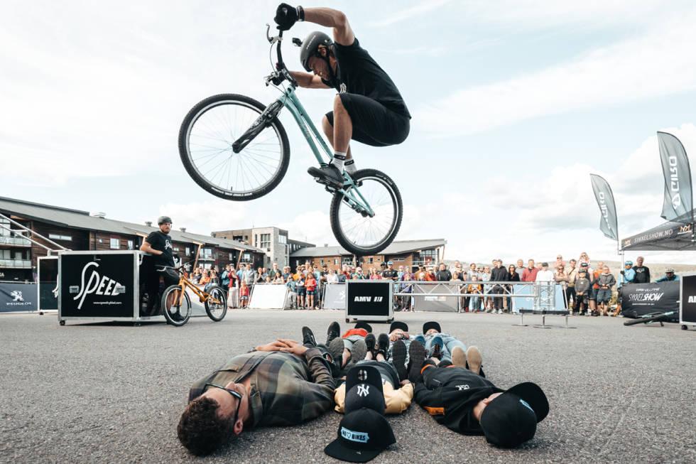 Utflukt show terrengsykkel festival 2021 Eirik Ultang Trial sykling mtb bike biking