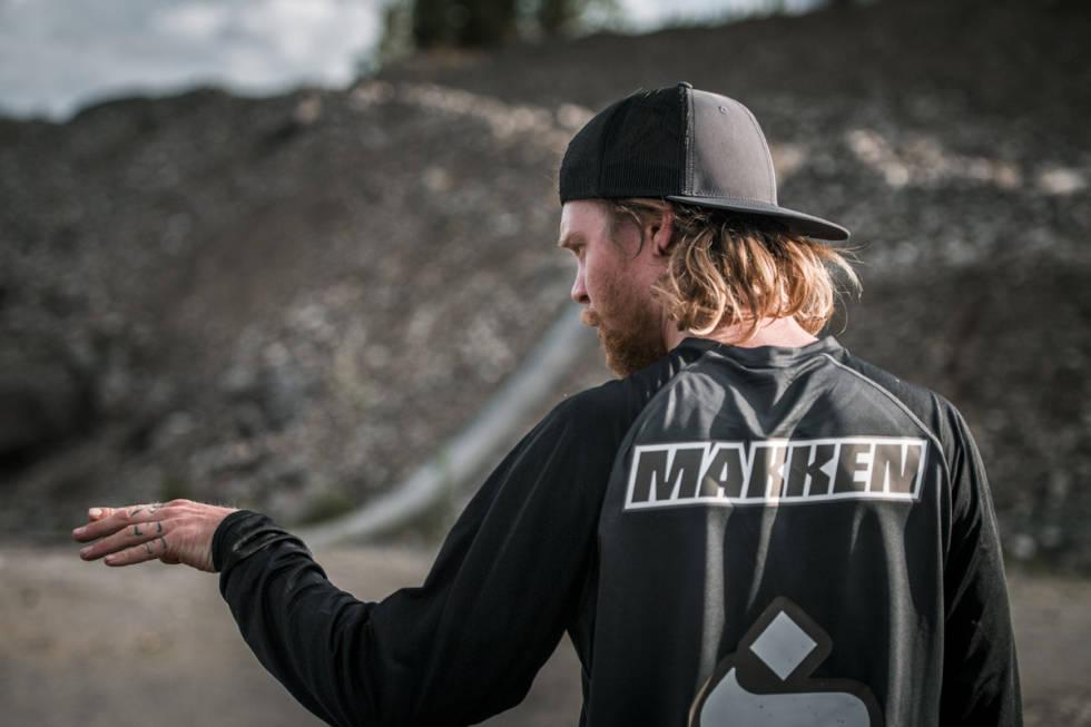 """Mads """"Makken"""" Haugen er en av våre fremste freeridesyklister."""