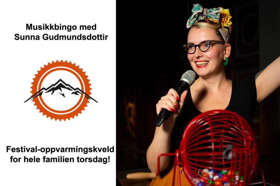 Sunna's Musikkbingo  garanterer dans og god stemning! Foto: Espen H. Groven / Skarpt Foto